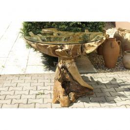 Autronic Dekorace Stůl velký (bez skla) (teakové dřevo)