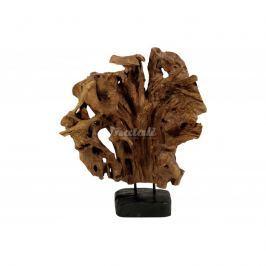 Autronic Dekorace Skulptura (teakové dřevo)