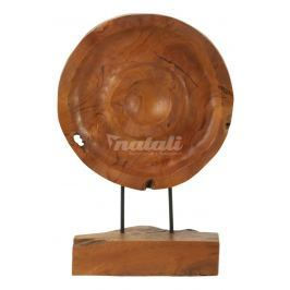 Autronic Dekorace Kruh dřevo  45cm