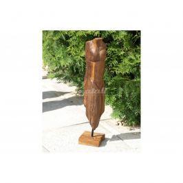 Autronic Dekorace Dřevořezba - postava (teakové dřevo)