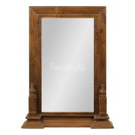 Autronic Dekorace Zrcadlo s dřevěným rámem