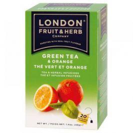 LONDON HERB Čaj Zelený s pomerančem 20 n.s. 44g LHS