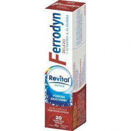 VITAR Revital Ferrodyn šumivé tablety 20 ks