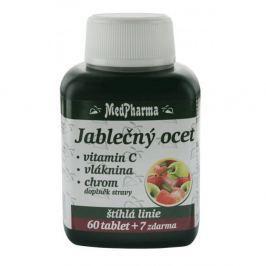 MedPharma Bromelain 300 mg + jabl. ocet + Lecitin + kelp + B6, 67 tablet