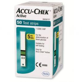 Accu Chek Active glukose 50 ks testovací proužky
