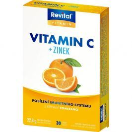 VITAR Revital Vitamín C + zinek 30 tablet