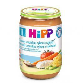 HIPP MENU Těstoviny s mořskou rybou a rajčetem 220g