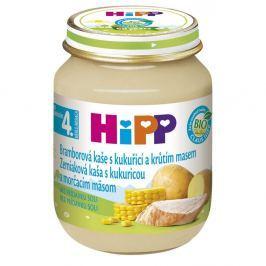 HIPP BABY BIO Bramborové pyré s kukuř. a krůtím 125 g