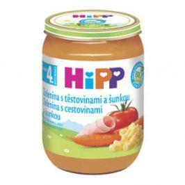 HIPP BABY BIO Zelenina s těstovinami a šunkou 190 g
