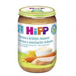 HIPP MENU BIO zelenina s krůtím masem 220g CZ6813