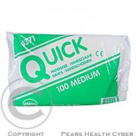Rukavice ochranné Quick M/100 ks č. 4371