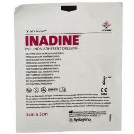 Inadine 5 x 5cm - 5 kusů jódový sterilní