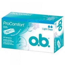 Tampony o.b.® ProComfort™ Light Days 16 kusů