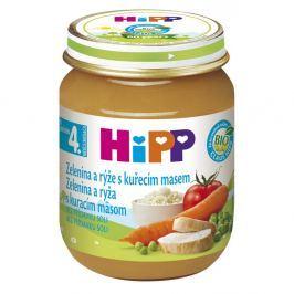 HIPP BABY BIO Zeleninová omáčka + rýže a kuře 125 g