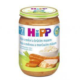 HIPP JUNIOR BIO Rýže s karotkou a krůtím 220 g