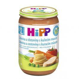 HIPP MENU BIO zelenina s těstovinami a kuřetem 220g CZ6833