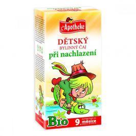 Apotheke Dětský čaj BIO při nachlazení 20x1.5g n.s.