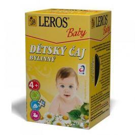 LEROS BABY Dětský čaj bylinný 20x1,8 g