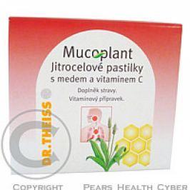 Mucoplant jitrocelové pastilky-med+vitamin C 50g