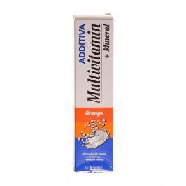 Additiva multivit. + minerál tbl. eff. 20 pomeranč
