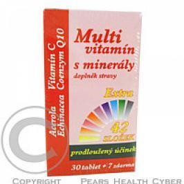 MedPharma Multivitamín s minerály + extra C tbl. 37