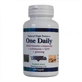 TheraTech 04 One Daily vitamíny + minerály + echinacea + Q10 tbl. 100
