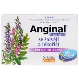 Dr. Müller Anginal se šalvějí a lékořicí 16 tbl.
