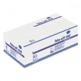 Rukavice vyšetřovací Peha - Soft nesterilní bez pudru Velké / 100 ks