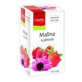 APOTHEKE Malina + jahoda s echinaceou 20x2 g