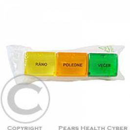 Dávkovač léků denní barevný (Obzor)