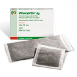 Komprese Vliwaktiv Ag 10 x 10 cm sterilní 10 ks