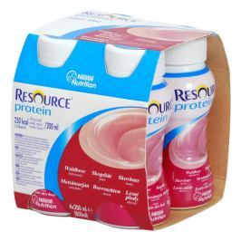 RESOURCE PROTEIN DRINK LESNÍ PL 4X200ML Roztok