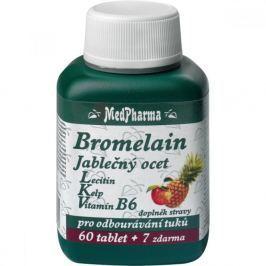 MedPharma Bromelain + jabl. ocet + lecitin tbl. 67