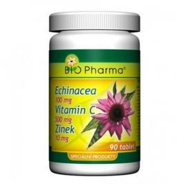 Echinacea 100 mg + Vitamín C 500 mg + Zinek 10 mg tbl. 90