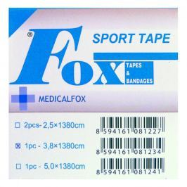 Tejpovací páska porézní 3.8 cm x 13.8 m