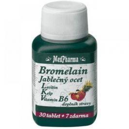 MedPharma Bromelain + jablečný ocet + lecitin tbl. 37