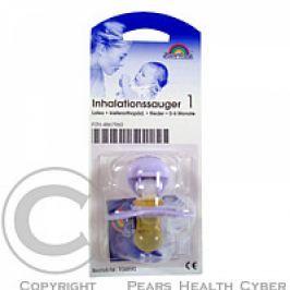 Inhalační šidítko BRONCHI, fialková, latex, ortodontická (0 - 6 měsíců)