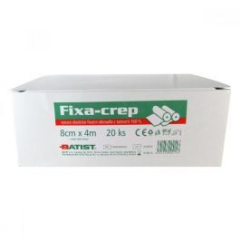 Obinadlo fixační Fixa - Crep 8 cm x 4 m 20 ks Batist