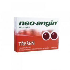 NEO-ANGIN BEZ CUKRU TŘEŠEŇ 24 pastilek rozpustných v ústech