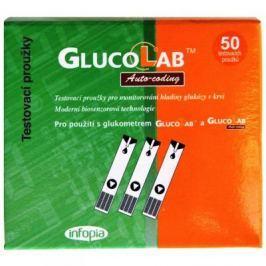Testovací proužky pro glukometr GlucoLab 50 ks