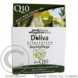 Doliva olivový noční krém na obličej s koenzymem Q10 50 ml Pleťové krémy