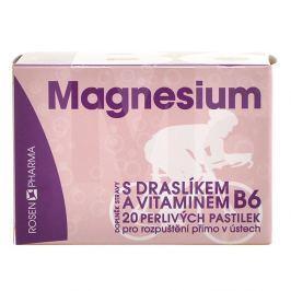 Rosen Magnesium 300mg perlivé pastilky 20ks Vitamíny a minerály