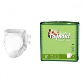 Inkontinenční kalhotky absorpční DEPEND Easy Fit Super S/M /18ks