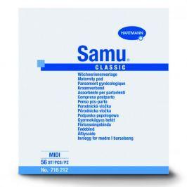MOLIPANTS SAMU balíček mini Vložky porodnické 2x20 ks 1x prsní vložky Fixies 2x fixační kalhotky Molipants L Hygienické vložky