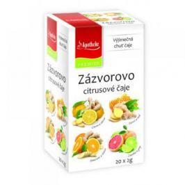 APOTHEKE Zázvorovo citrusové čaje 4v1 20x2 g Čaje
