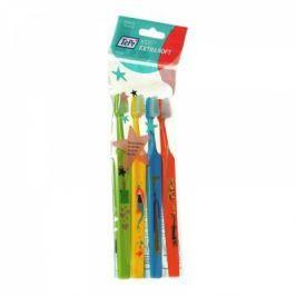 TEPE zubní kartáček Select Compact Kid ZOO x-soft 3+1 ZDARMA Zubní kartáčky