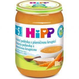 HIPP POLÉVKY BIO Kuřecí s pšeničnou krupicí 190 g Dětské polévky