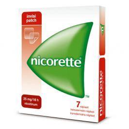 Nicorette Invisipatch 25mg-16h drm.emp.tdr.7x25mg Léky volně prodejné