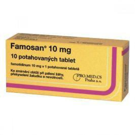 FAMOSAN 10 MG 10X10MG Potahované tablety Léky volně prodejné