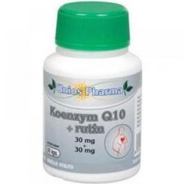 Uniospharma Koenzym Q10 30mg+rutin Vitamíny a minerály